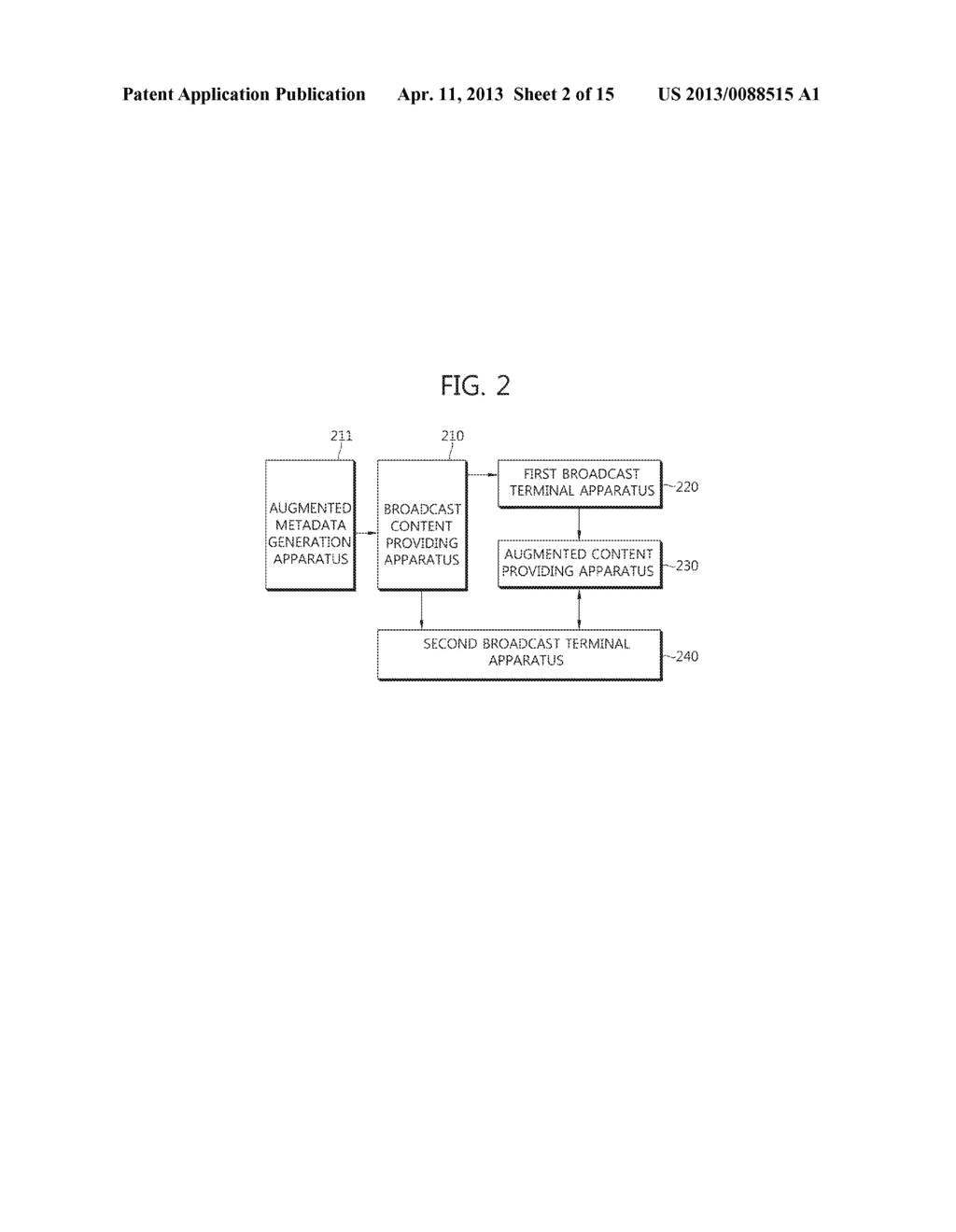 METHOD OF PROVIDING AUGMENTED CONTENTS AND APPARATUS FOR PERFORMING THE     SAME, METHOD OF REGISTERING AUGMENTED CONTENTS AND APPARATUS FOR     PERFORMING THE SAME, SYSTEM FOR PROVIDING TARGETING AUGMENTED CONTENTS - diagram, schematic, and image 03