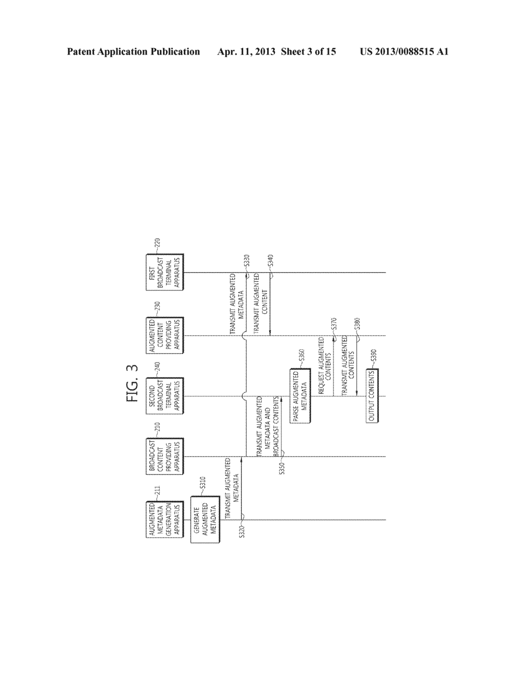 METHOD OF PROVIDING AUGMENTED CONTENTS AND APPARATUS FOR PERFORMING THE     SAME, METHOD OF REGISTERING AUGMENTED CONTENTS AND APPARATUS FOR     PERFORMING THE SAME, SYSTEM FOR PROVIDING TARGETING AUGMENTED CONTENTS - diagram, schematic, and image 04
