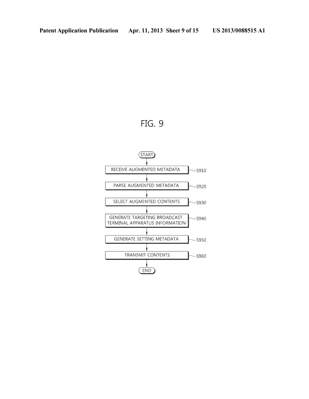 METHOD OF PROVIDING AUGMENTED CONTENTS AND APPARATUS FOR PERFORMING THE     SAME, METHOD OF REGISTERING AUGMENTED CONTENTS AND APPARATUS FOR     PERFORMING THE SAME, SYSTEM FOR PROVIDING TARGETING AUGMENTED CONTENTS - diagram, schematic, and image 10