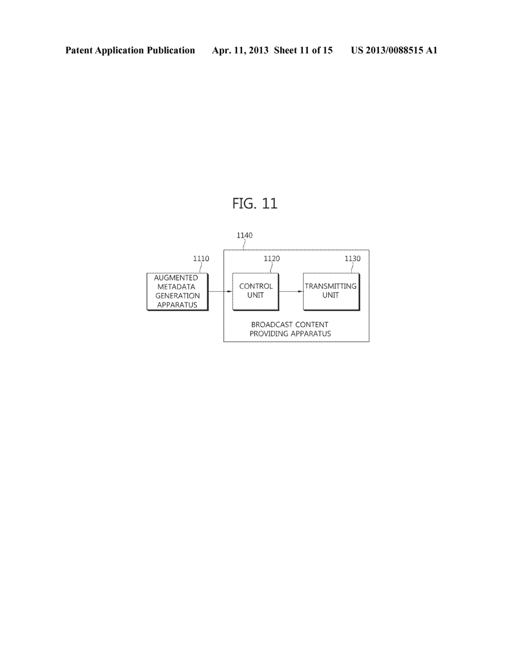 METHOD OF PROVIDING AUGMENTED CONTENTS AND APPARATUS FOR PERFORMING THE     SAME, METHOD OF REGISTERING AUGMENTED CONTENTS AND APPARATUS FOR     PERFORMING THE SAME, SYSTEM FOR PROVIDING TARGETING AUGMENTED CONTENTS - diagram, schematic, and image 12