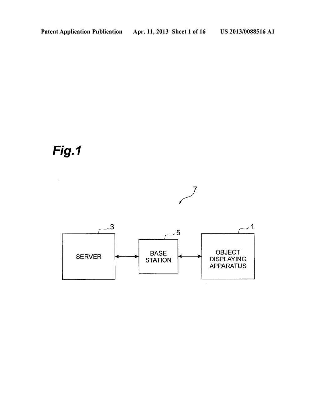 OBJECT DISPLAYING APPARATUS, OBJECT DISPLAYING SYSTEM, AND OBJECT     DISPLAYING METHOD - diagram, schematic, and image 02