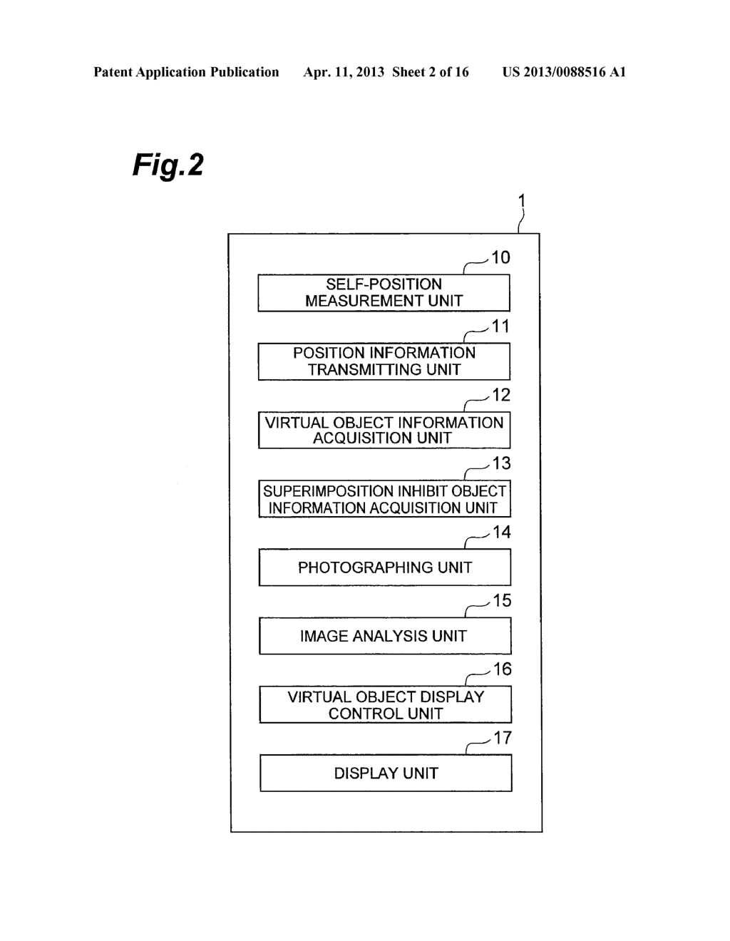 OBJECT DISPLAYING APPARATUS, OBJECT DISPLAYING SYSTEM, AND OBJECT     DISPLAYING METHOD - diagram, schematic, and image 03