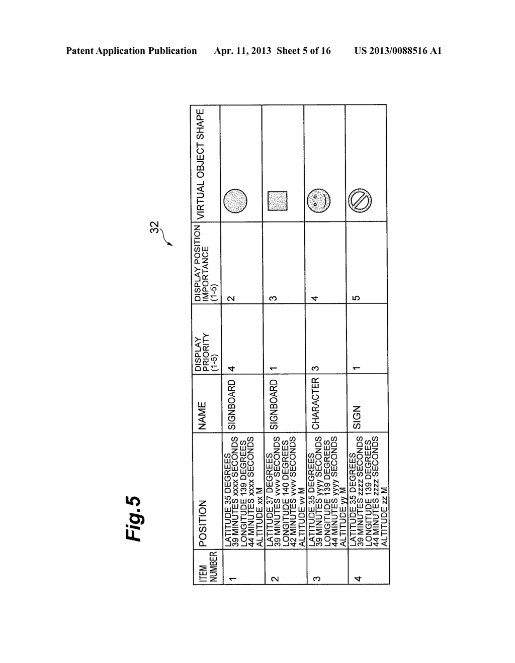 OBJECT DISPLAYING APPARATUS, OBJECT DISPLAYING SYSTEM, AND OBJECT     DISPLAYING METHOD - diagram, schematic, and image 06