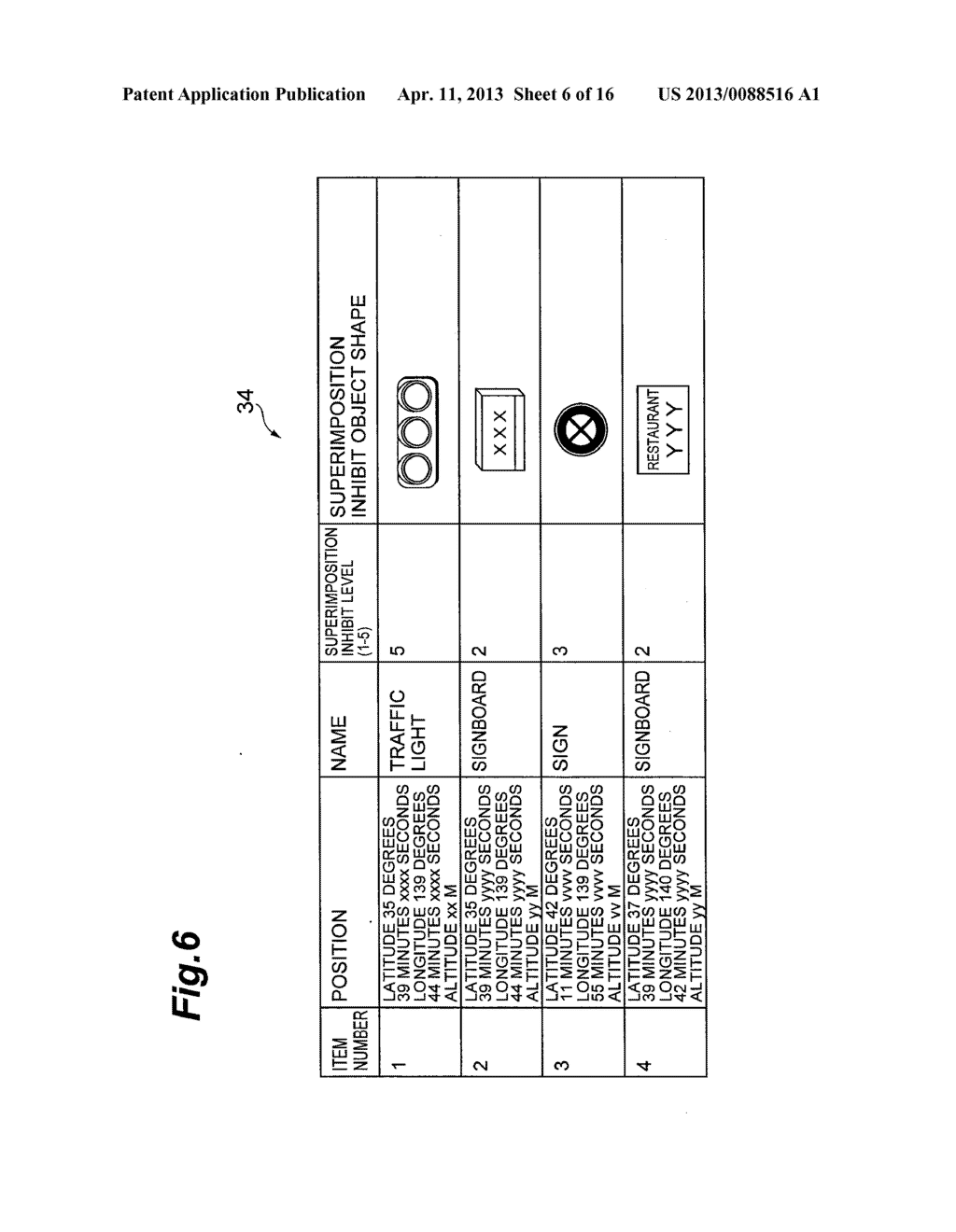 OBJECT DISPLAYING APPARATUS, OBJECT DISPLAYING SYSTEM, AND OBJECT     DISPLAYING METHOD - diagram, schematic, and image 07