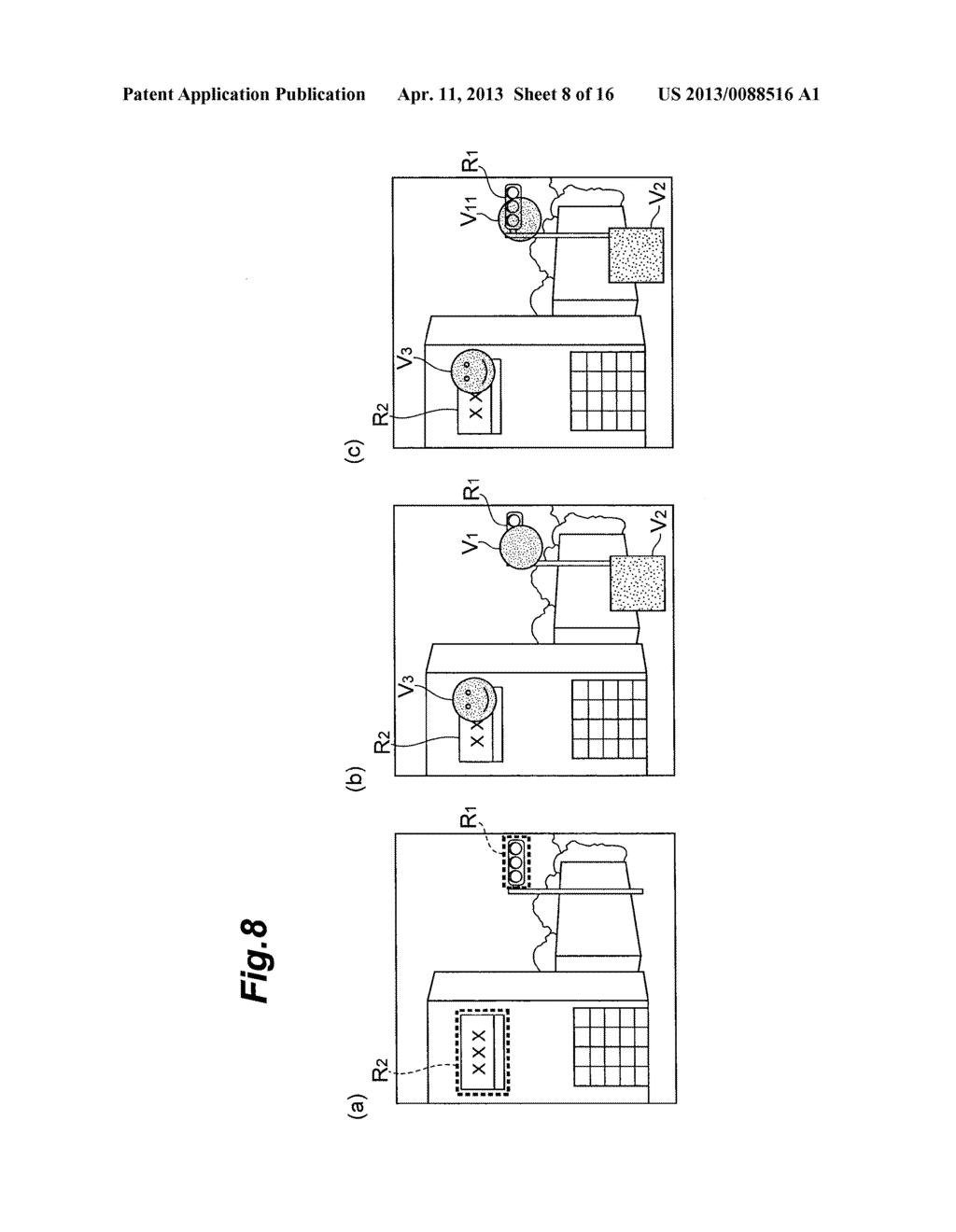 OBJECT DISPLAYING APPARATUS, OBJECT DISPLAYING SYSTEM, AND OBJECT     DISPLAYING METHOD - diagram, schematic, and image 09