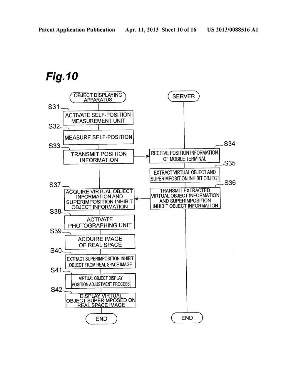 OBJECT DISPLAYING APPARATUS, OBJECT DISPLAYING SYSTEM, AND OBJECT     DISPLAYING METHOD - diagram, schematic, and image 11