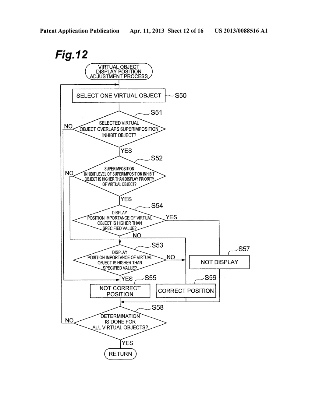 OBJECT DISPLAYING APPARATUS, OBJECT DISPLAYING SYSTEM, AND OBJECT     DISPLAYING METHOD - diagram, schematic, and image 13