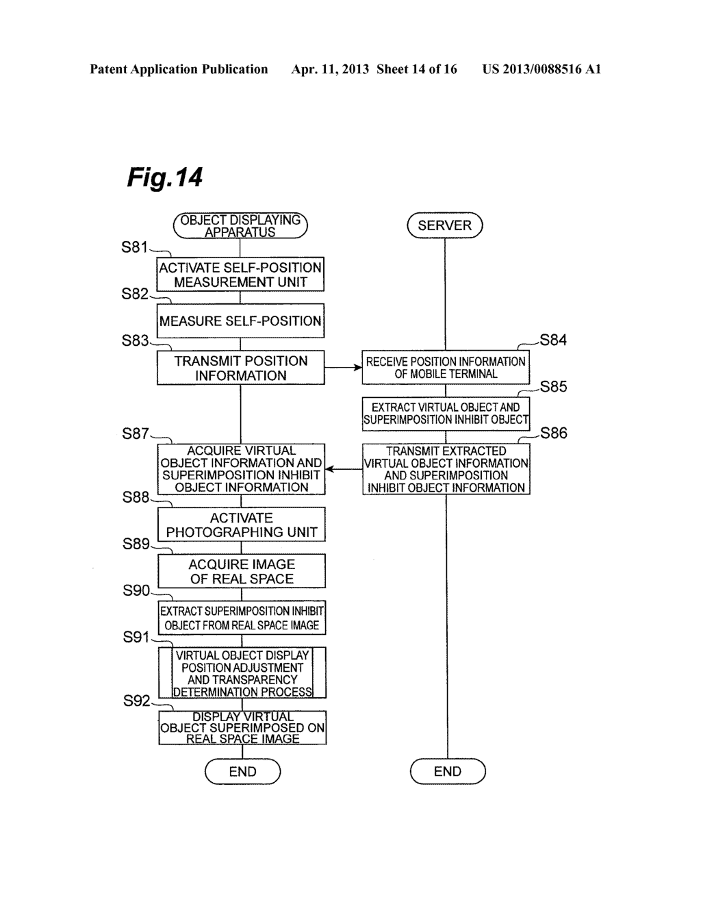 OBJECT DISPLAYING APPARATUS, OBJECT DISPLAYING SYSTEM, AND OBJECT     DISPLAYING METHOD - diagram, schematic, and image 15
