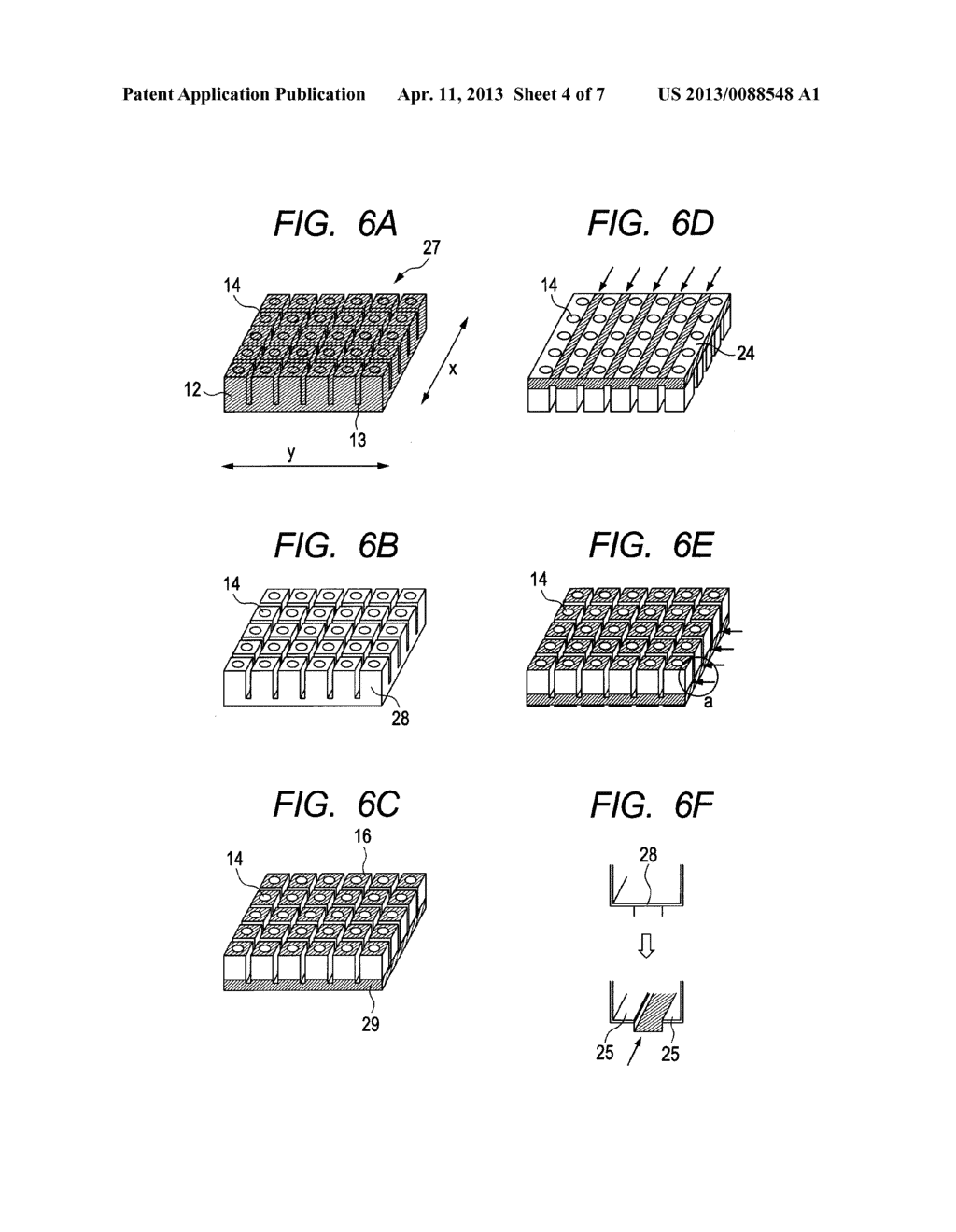 LIQUID DISCHARGE HEAD AND METHOD FOR MANUFACTURING LIQUID DISCHARGE HEAD - diagram, schematic, and image 05