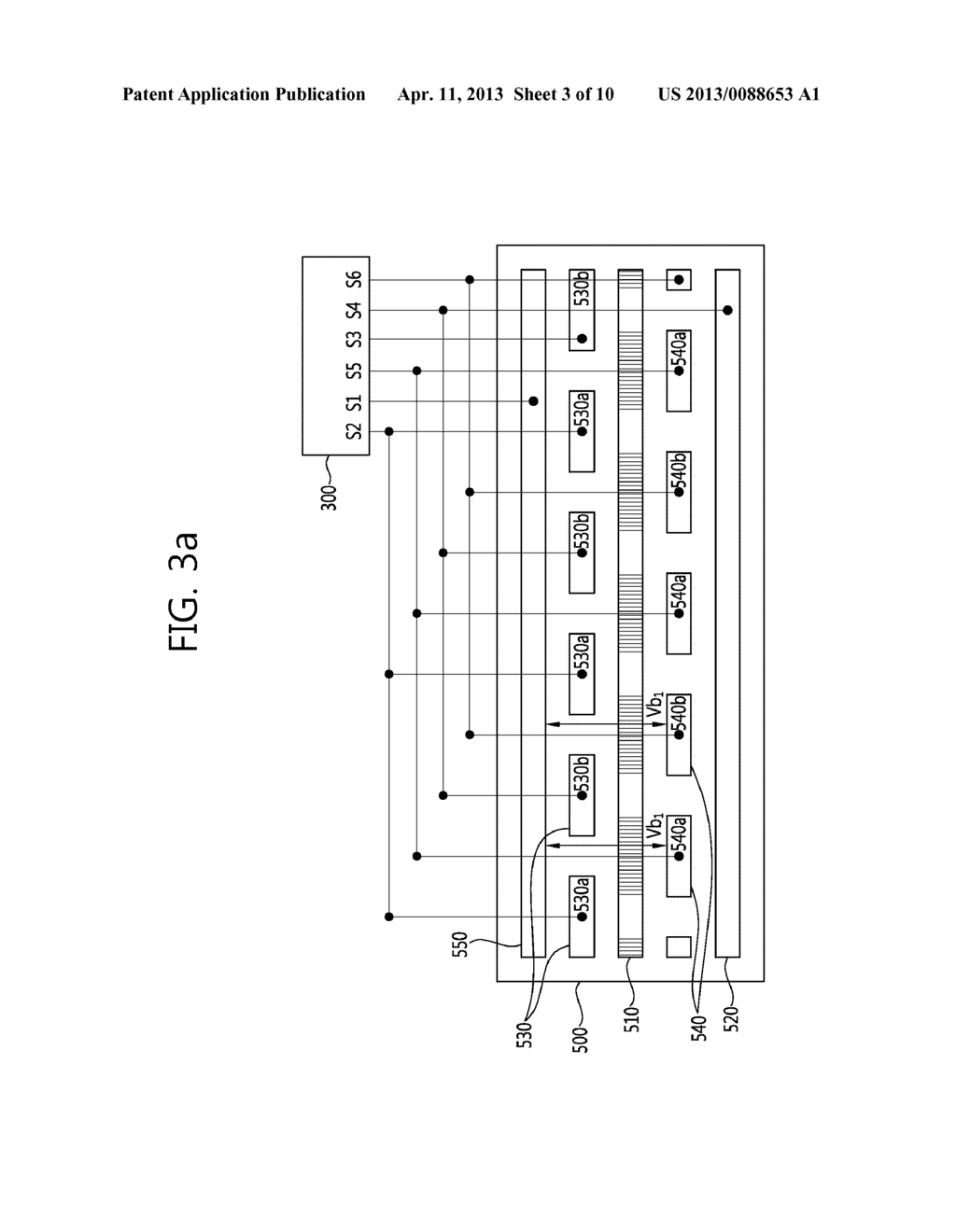 STEREO-SCOPIC IMAGE PANEL, STEREO-SCOPIC IMAGE DISPLAY APPARATUS HAVING     THE SAME AND DRIVING METHOD THEREOF - diagram, schematic, and image 04