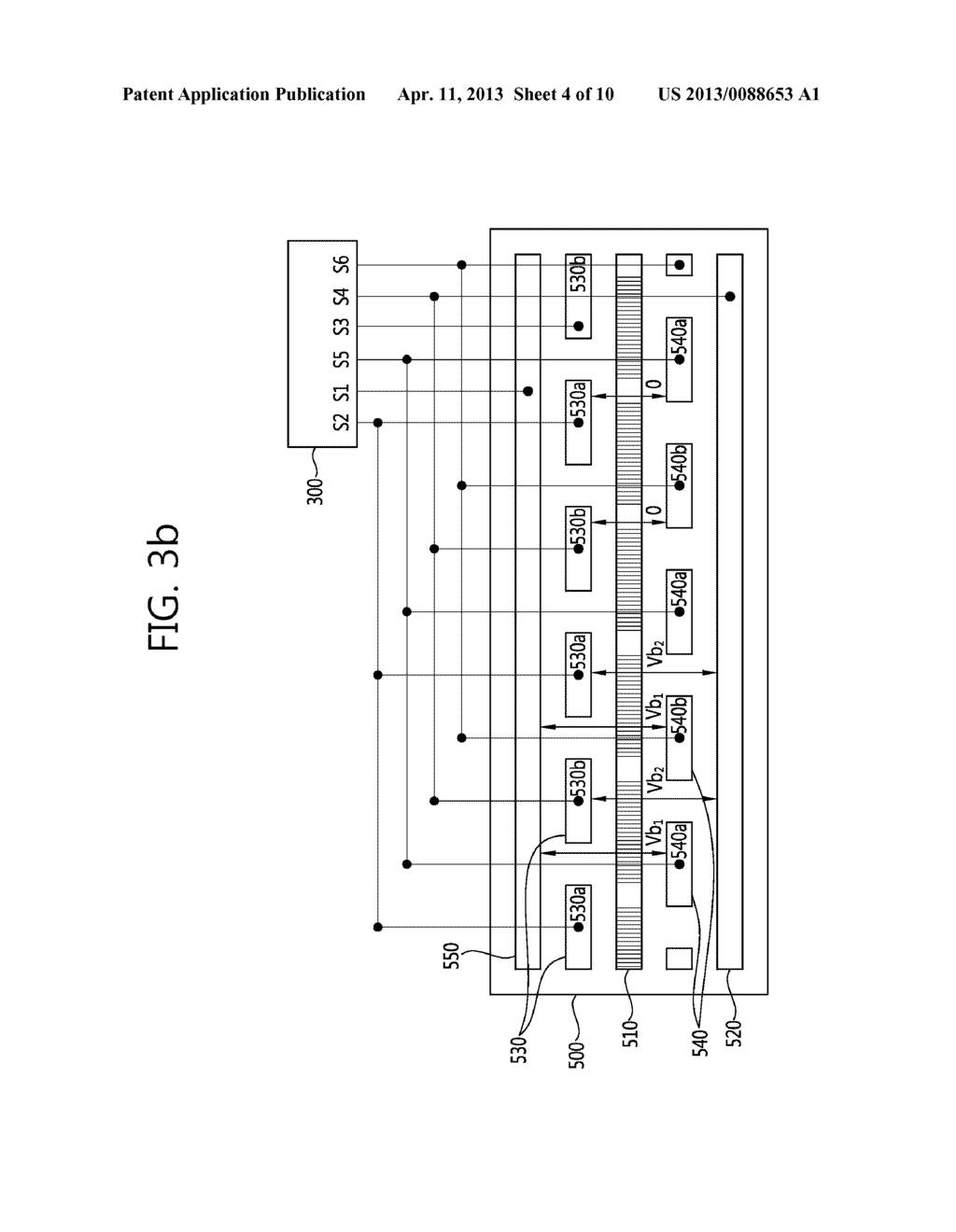 STEREO-SCOPIC IMAGE PANEL, STEREO-SCOPIC IMAGE DISPLAY APPARATUS HAVING     THE SAME AND DRIVING METHOD THEREOF - diagram, schematic, and image 05