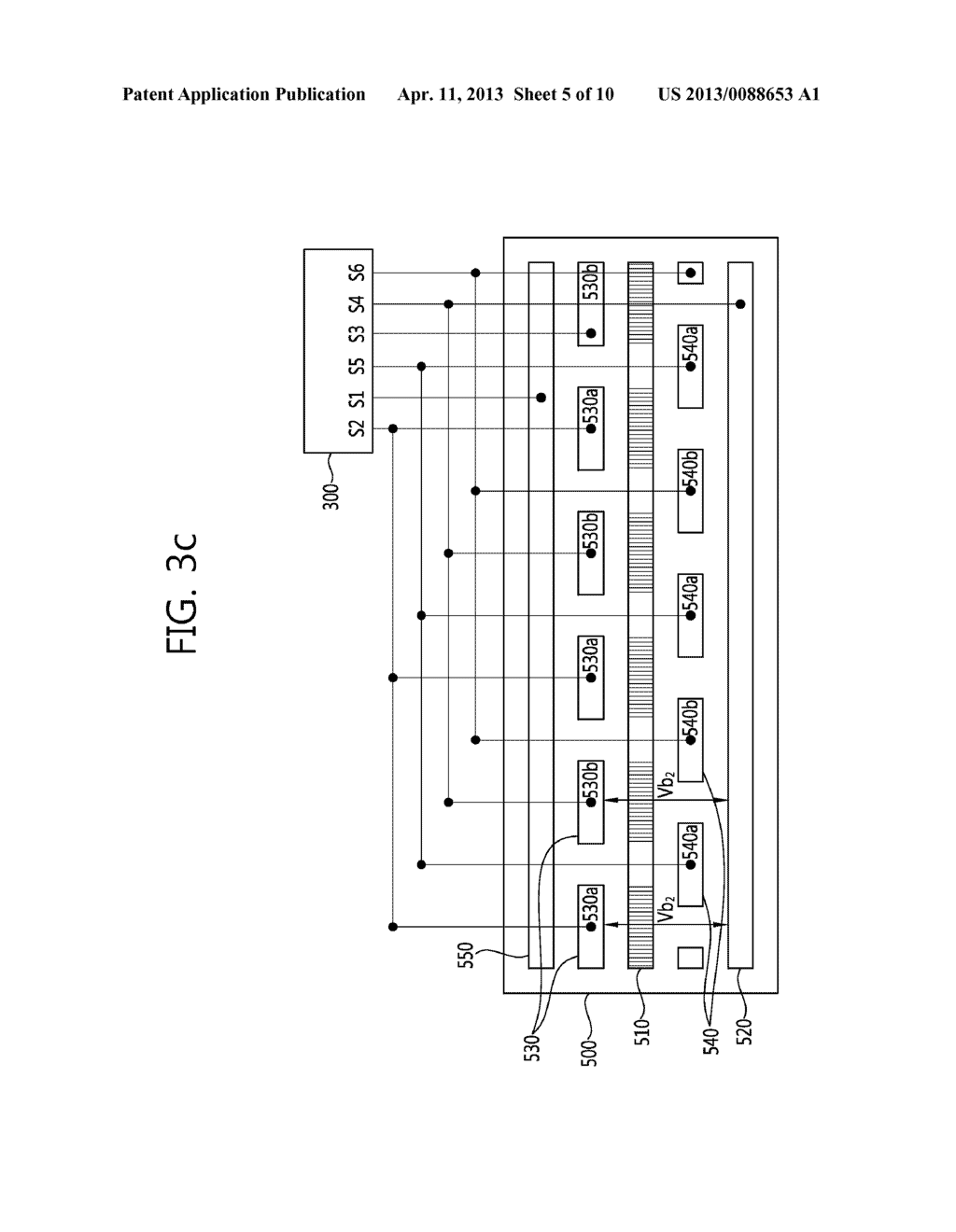 STEREO-SCOPIC IMAGE PANEL, STEREO-SCOPIC IMAGE DISPLAY APPARATUS HAVING     THE SAME AND DRIVING METHOD THEREOF - diagram, schematic, and image 06