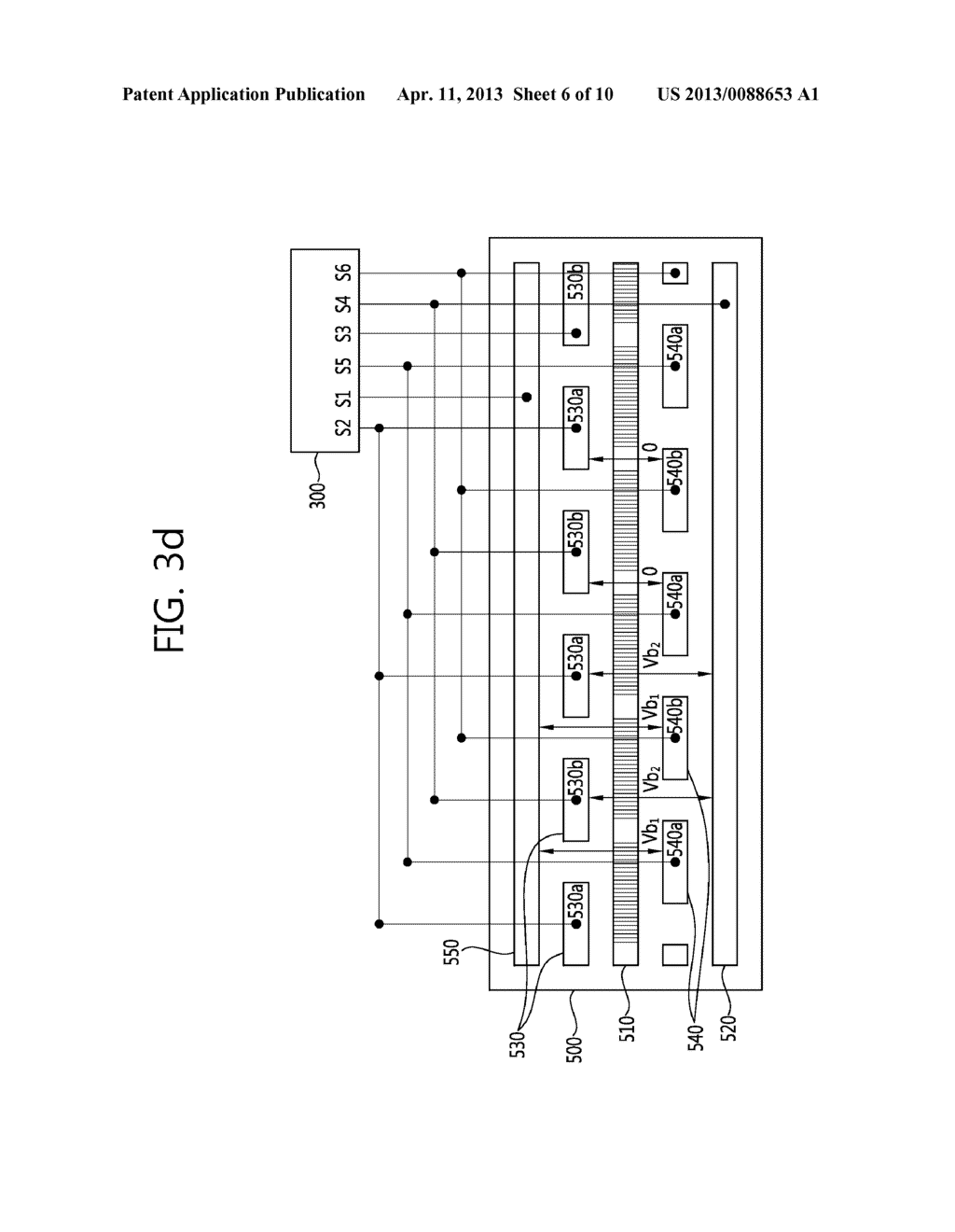 STEREO-SCOPIC IMAGE PANEL, STEREO-SCOPIC IMAGE DISPLAY APPARATUS HAVING     THE SAME AND DRIVING METHOD THEREOF - diagram, schematic, and image 07