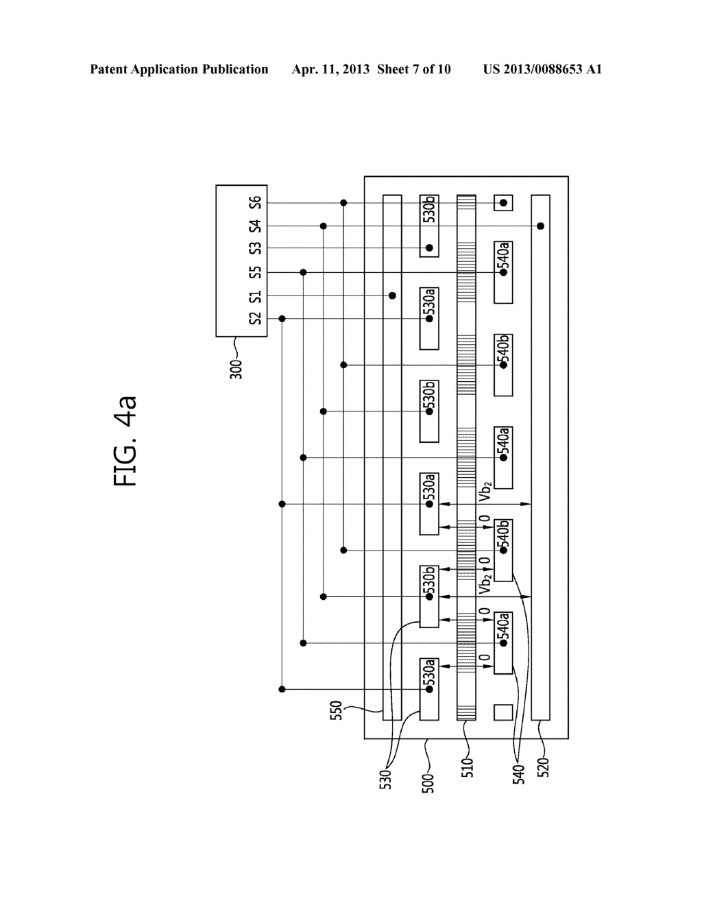 STEREO-SCOPIC IMAGE PANEL, STEREO-SCOPIC IMAGE DISPLAY APPARATUS HAVING     THE SAME AND DRIVING METHOD THEREOF - diagram, schematic, and image 08