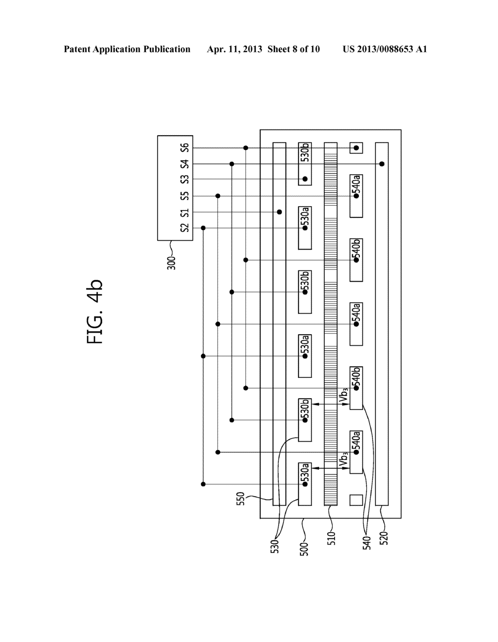 STEREO-SCOPIC IMAGE PANEL, STEREO-SCOPIC IMAGE DISPLAY APPARATUS HAVING     THE SAME AND DRIVING METHOD THEREOF - diagram, schematic, and image 09