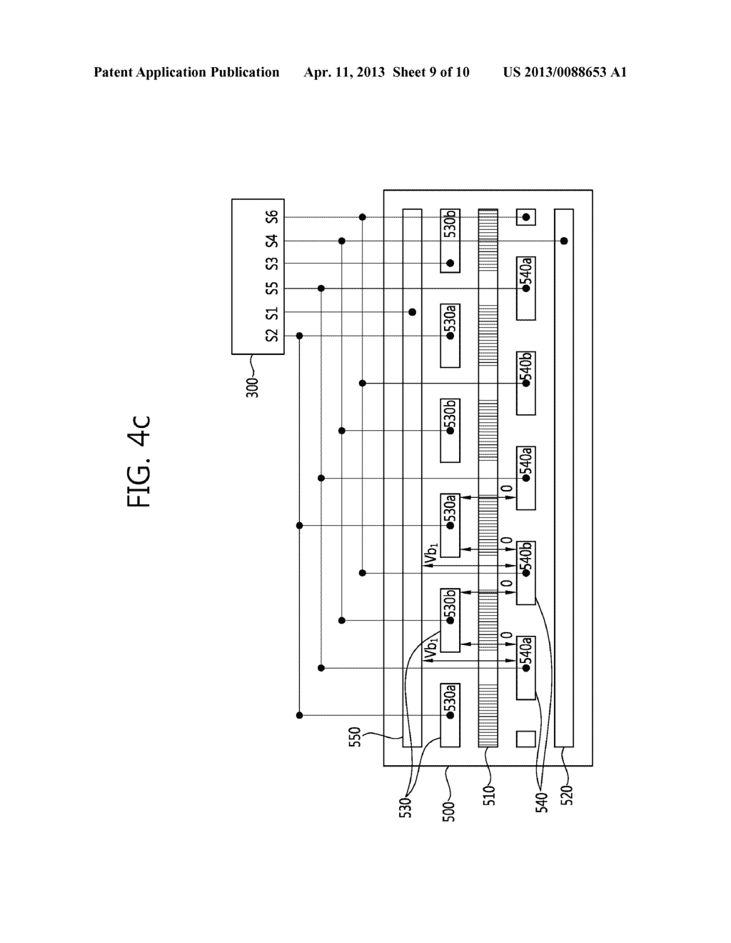 STEREO-SCOPIC IMAGE PANEL, STEREO-SCOPIC IMAGE DISPLAY APPARATUS HAVING     THE SAME AND DRIVING METHOD THEREOF - diagram, schematic, and image 10