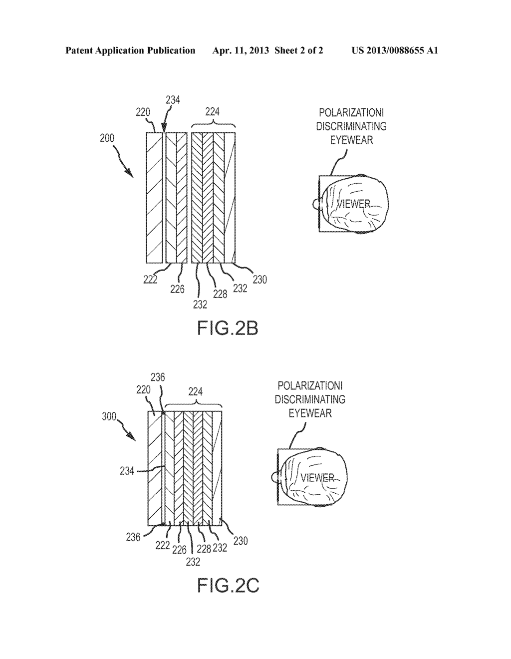 Stereoscopic display system with active switchable retarder - diagram, schematic, and image 03