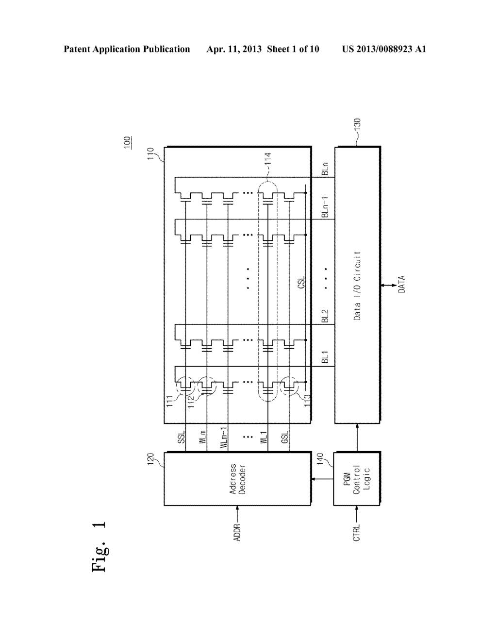 NONVOLATILE MEMORY DEVICE, SYSTEM, AND PROGRAMMING METHOD - diagram, schematic, and image 02