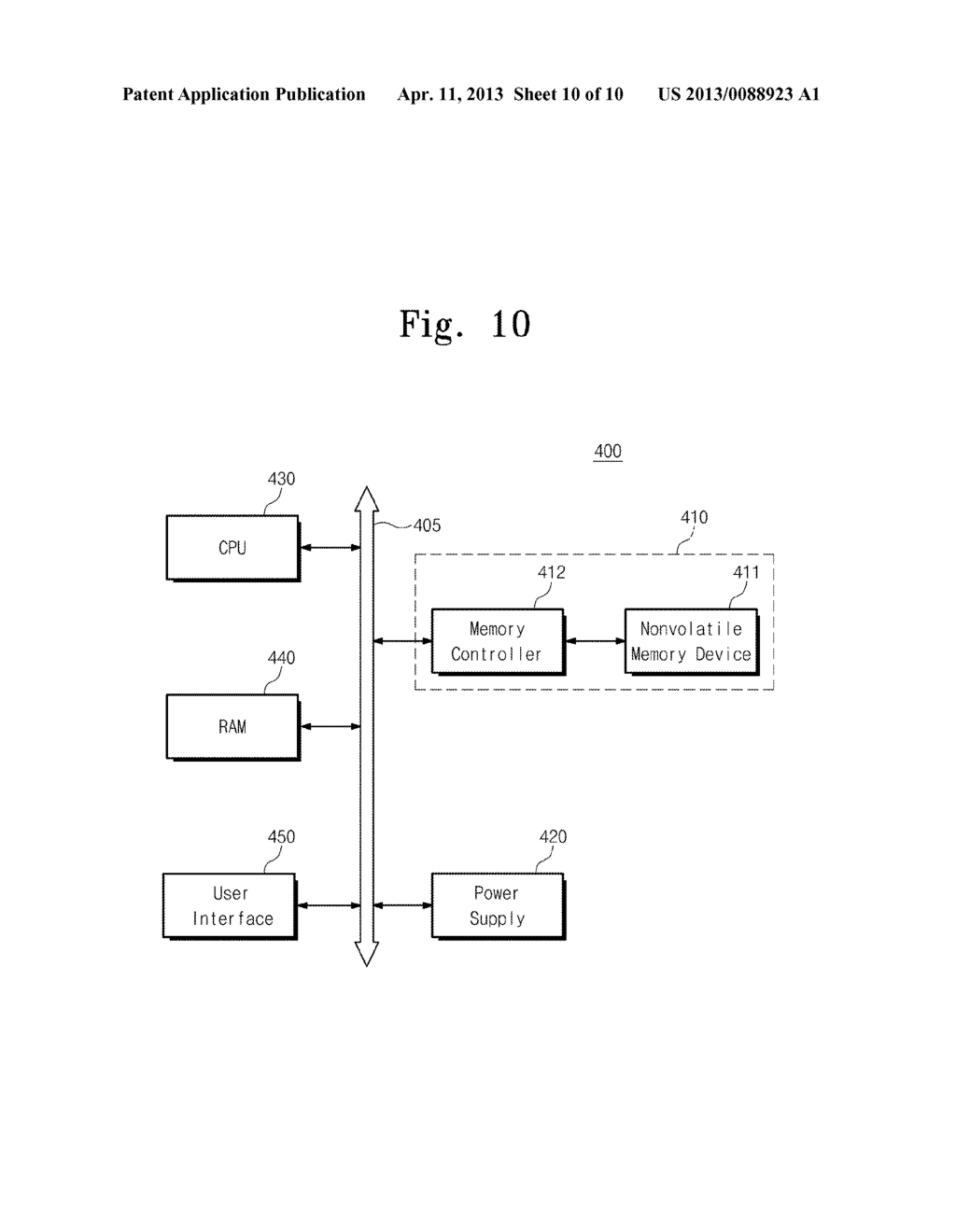 NONVOLATILE MEMORY DEVICE, SYSTEM, AND PROGRAMMING METHOD - diagram, schematic, and image 11