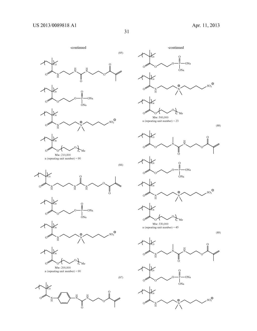 LITHOGRAPHIC PRINTING PLATE PRECURSOR, PLATE MAKING METHOD THEREOF AND     NOVEL POLYMER COMPOUND - diagram, schematic, and image 33