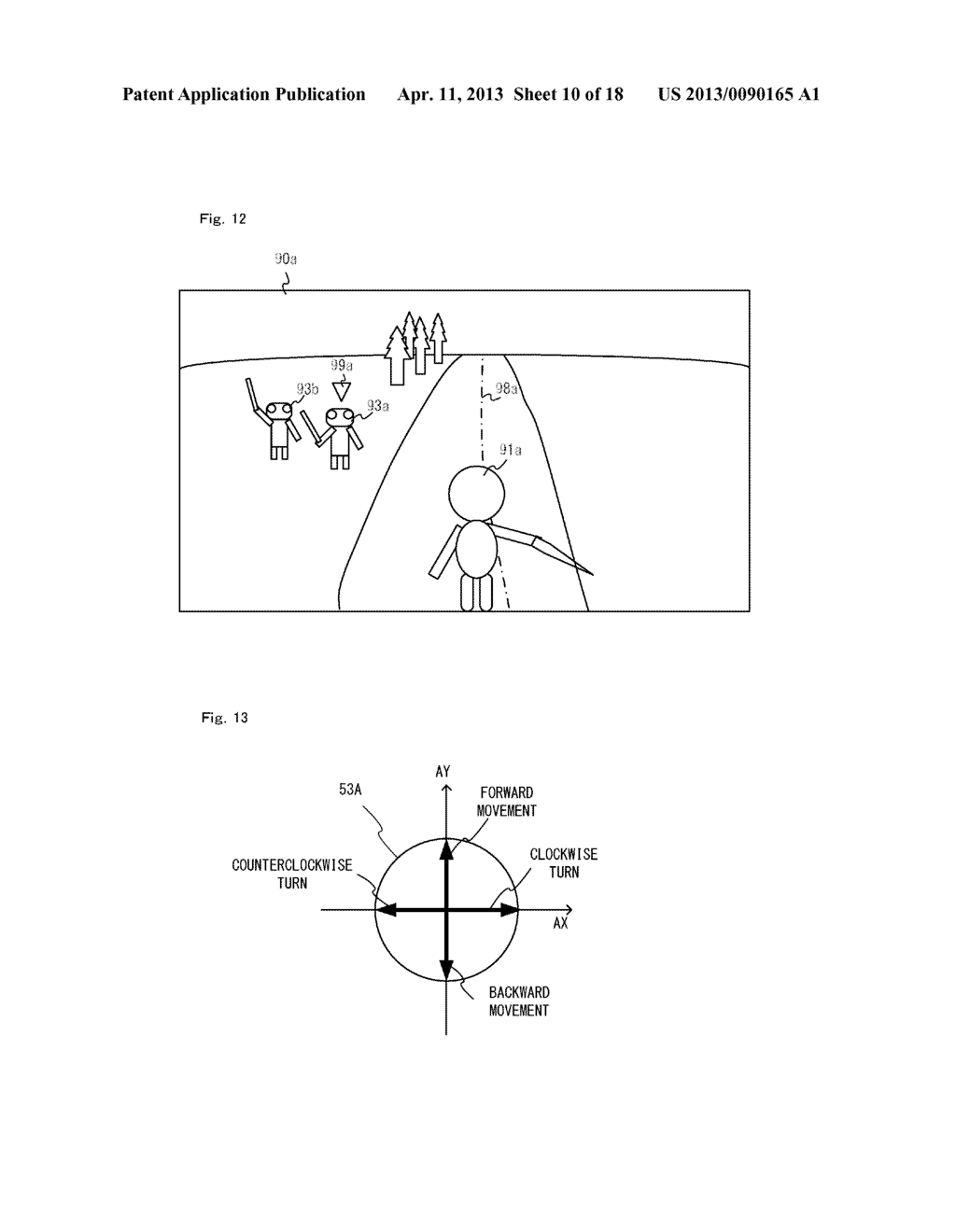 GAME SYSTEM, GAME PROCESSING METHOD, RECORDING MEDIUM STORING GAME     PROGRAM, AND GAME DEVICE - diagram, schematic, and image 11