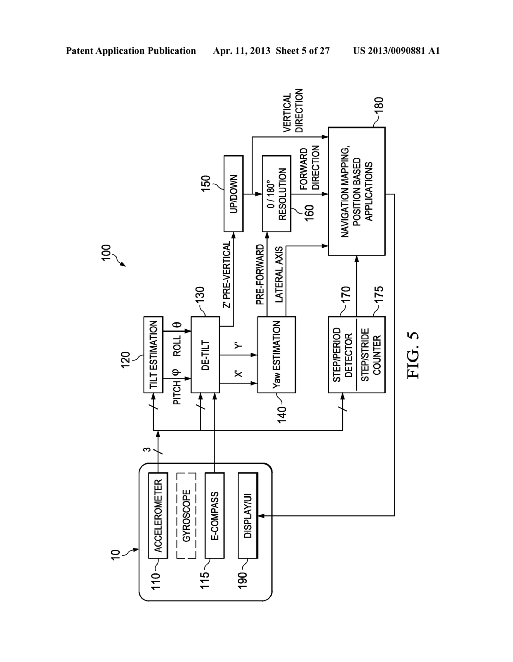 Robust Step Detection Using Low Cost Mems Accelerometer In Mobile Circuitschematic Applications And Processing Methods Apparatus Systems Diagram Schematic
