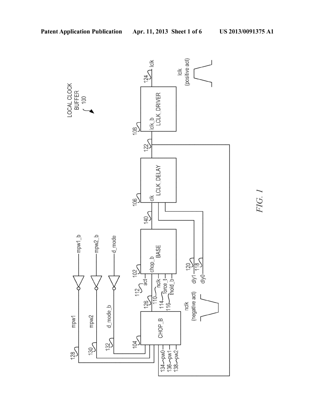 Advanced Array Local Clock Buffer Base Block Circuit Diagram Positive Negative Schematic And Image 02