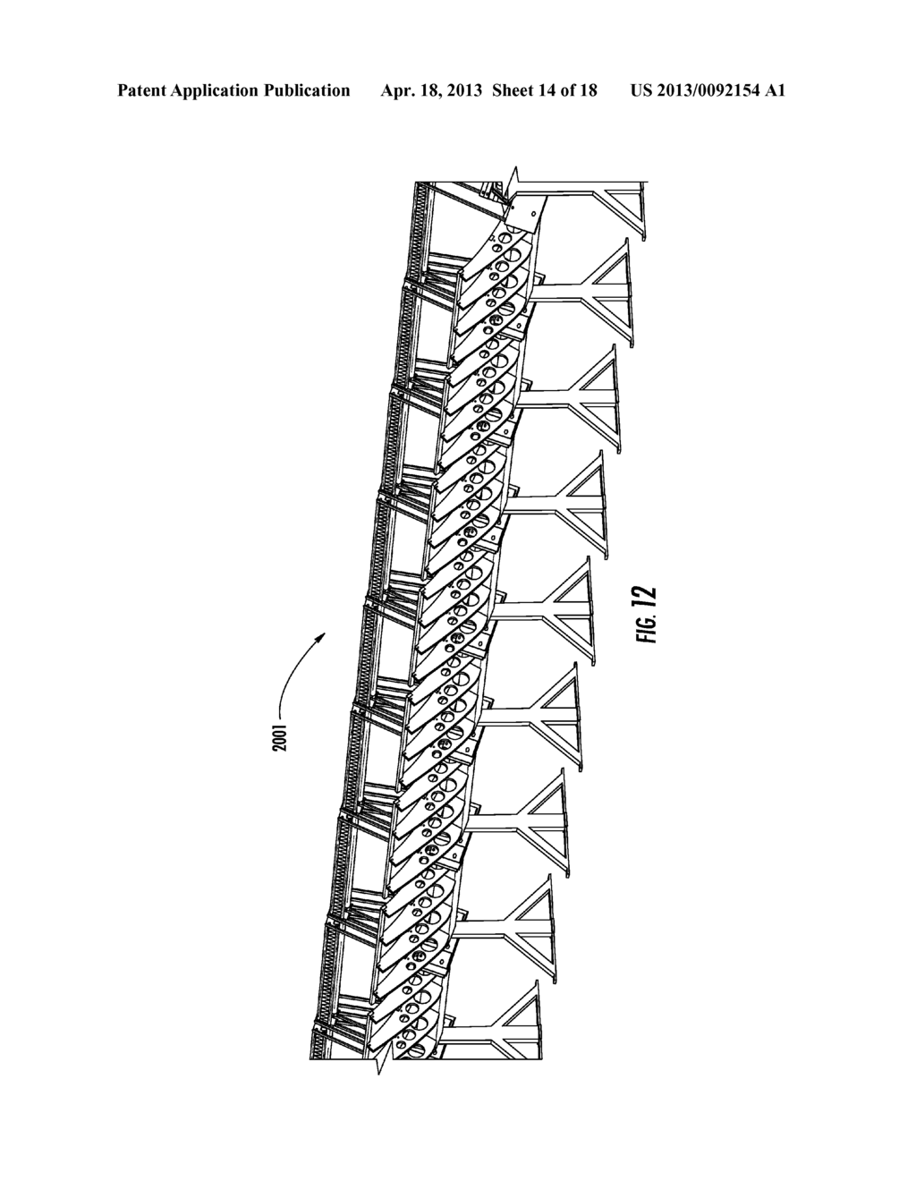 APPARATUSES AND METHODS FOR PROVIDING A SECONDARY REFLECTOR ON A SOLAR     COLLECTOR SYSTEM - diagram, schematic, and image 15