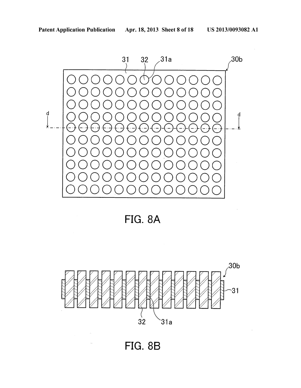 SEMICONDUCTOR DEVICE, ELECTRODE MEMBER, AND ELECTRODE MEMBER FABRICATION     METHOD - diagram, schematic, and image 09