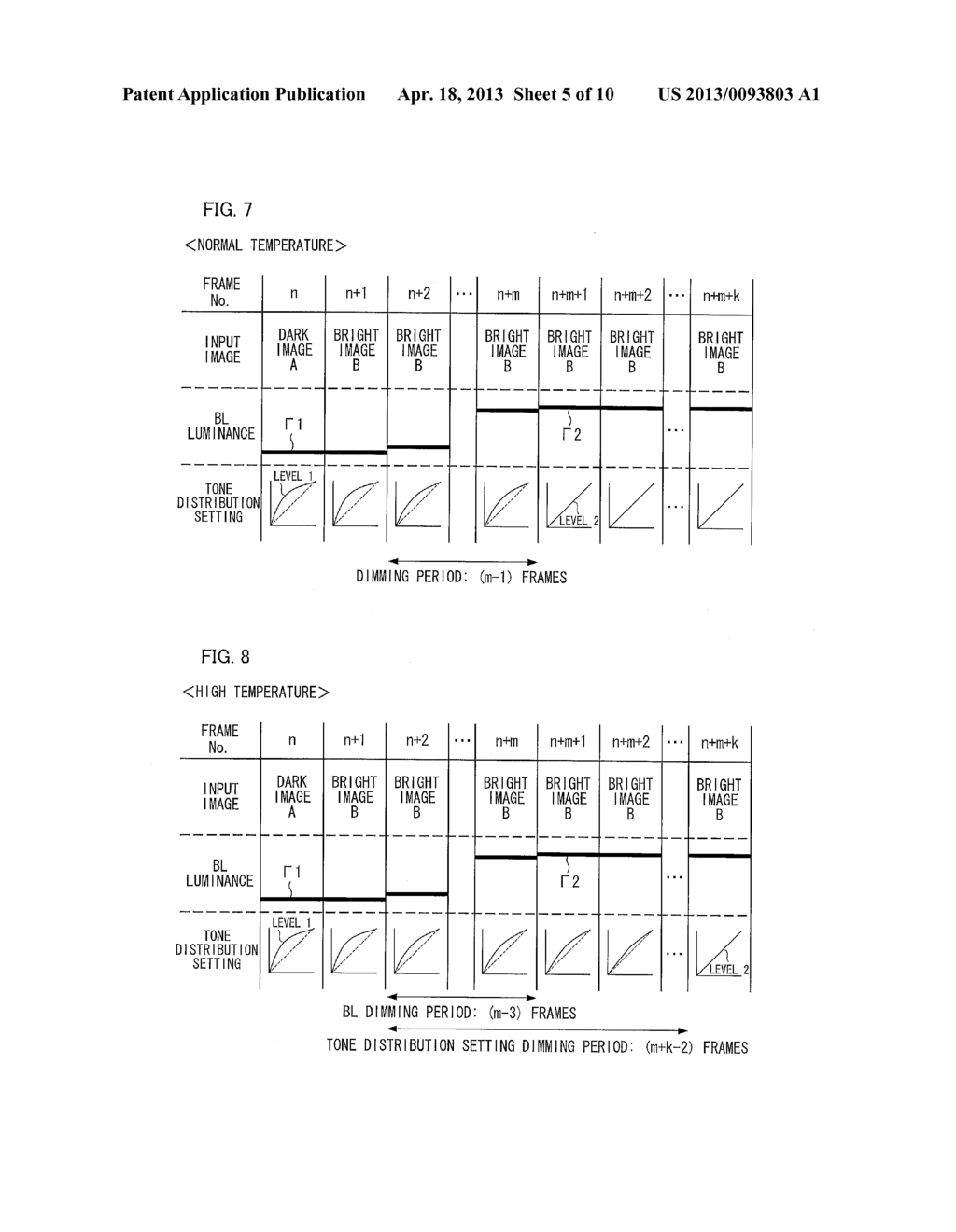 DISPLAY CONTROL METHOD, DISPLAY CONTROL APPARATUS, LIQUID CRYSTAL DISPLAY     APPARATUS, DISPLAY CONTROL PROGRAM, AND COMPUTER READABLE RECORDING     MEDIUM - diagram, schematic, and image 06