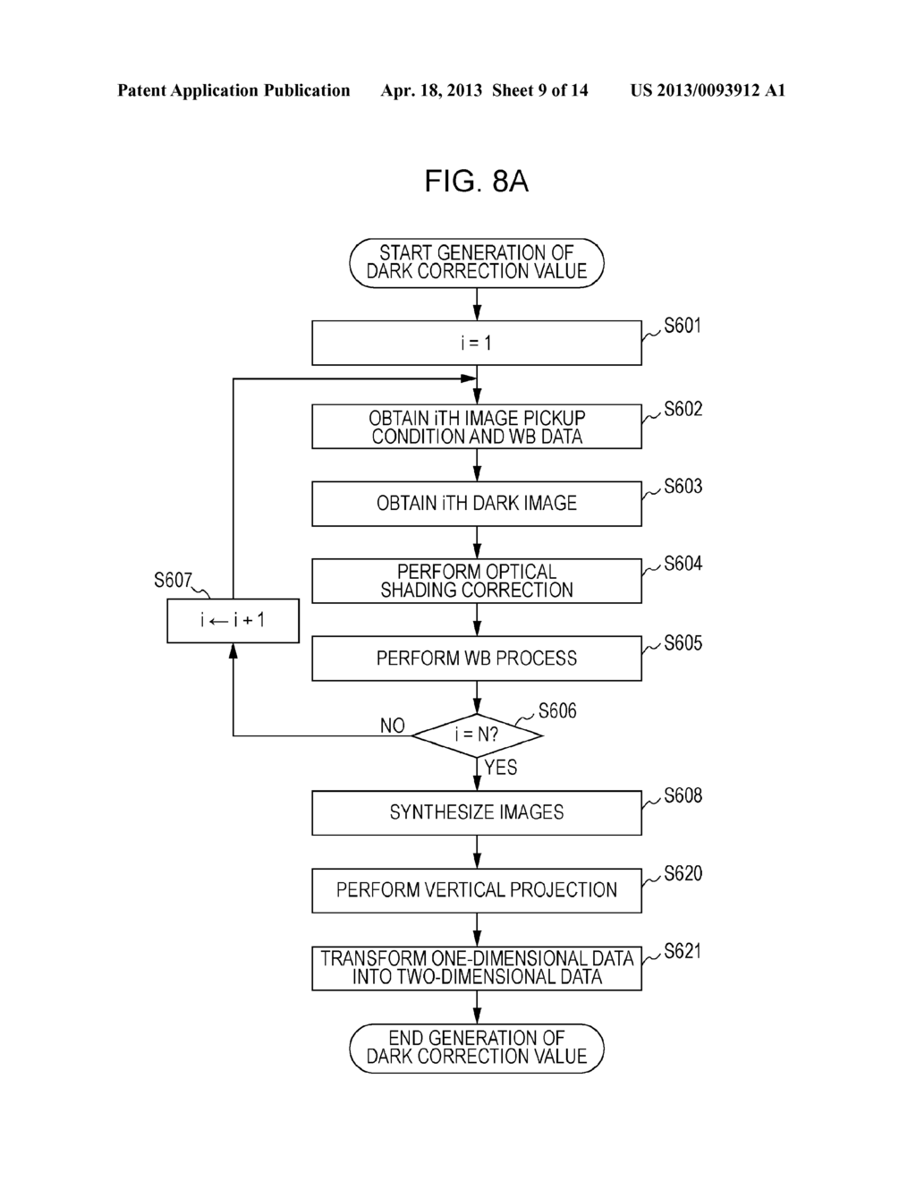IMAGE PICKUP APPARATUS AND METHOD FOR CONTROLLING THE SAME - diagram, schematic, and image 10