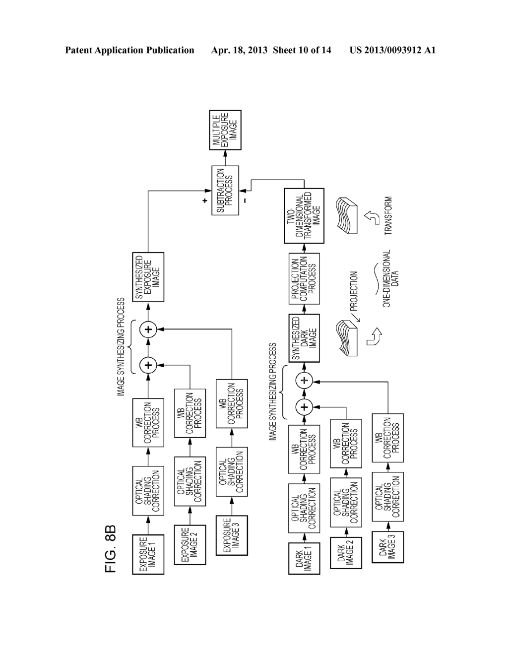 IMAGE PICKUP APPARATUS AND METHOD FOR CONTROLLING THE SAME - diagram, schematic, and image 11