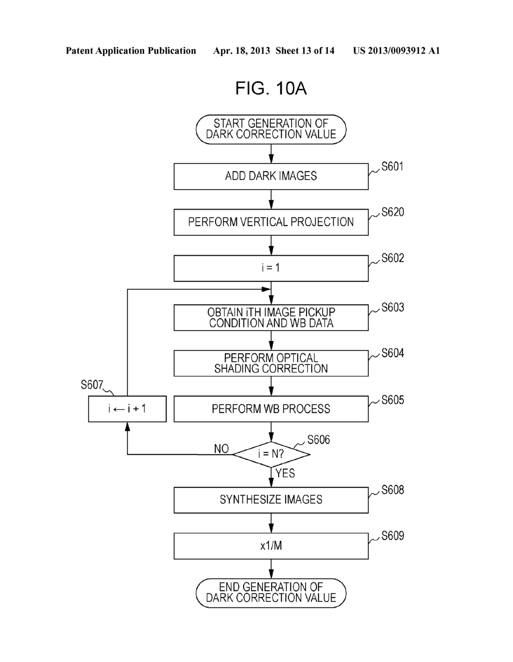 IMAGE PICKUP APPARATUS AND METHOD FOR CONTROLLING THE SAME - diagram, schematic, and image 14