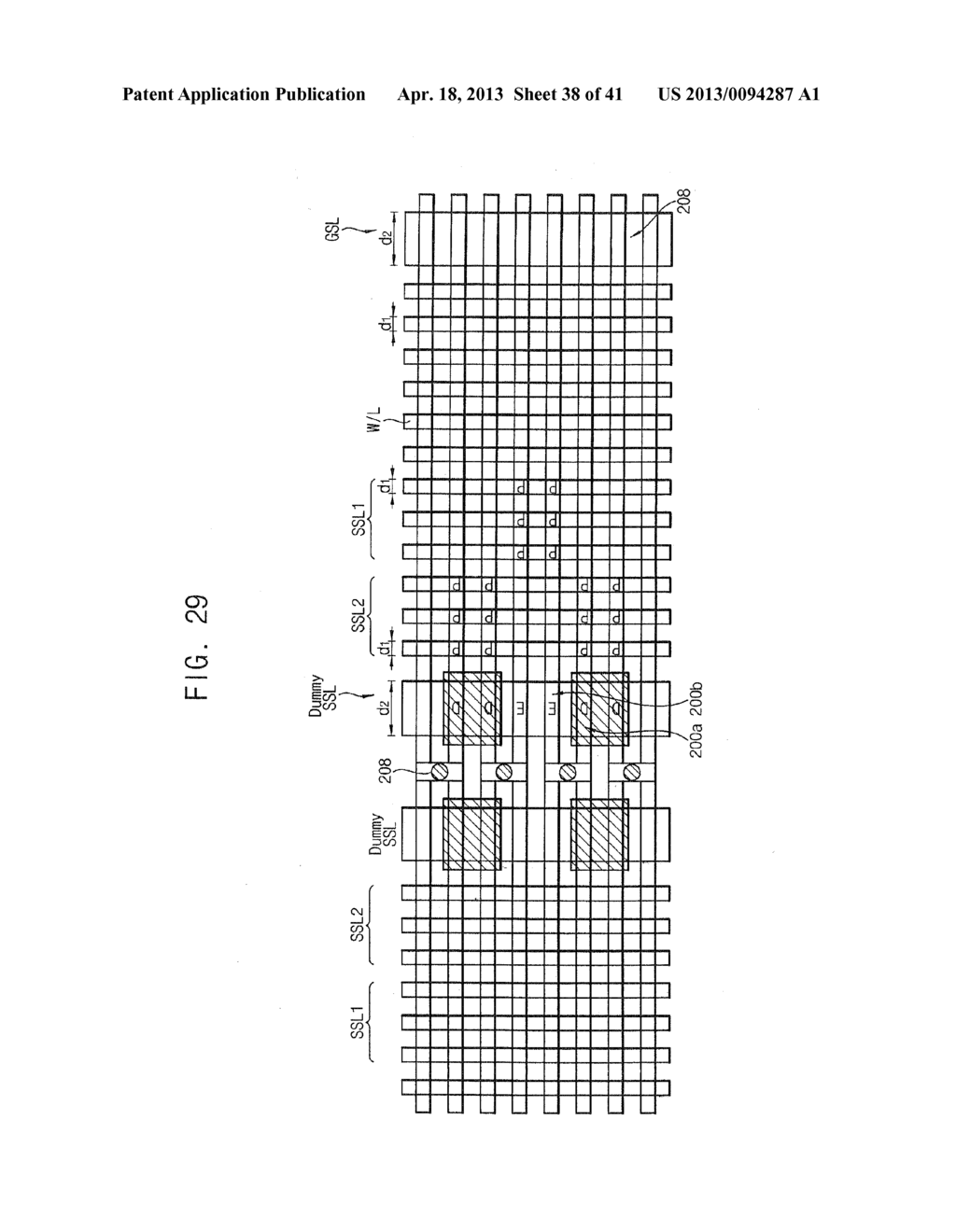 SEMICONDUCTOR MEMORY DEVICES AND METHODS OF MANUFACTURING THE SAME - diagram, schematic, and image 39