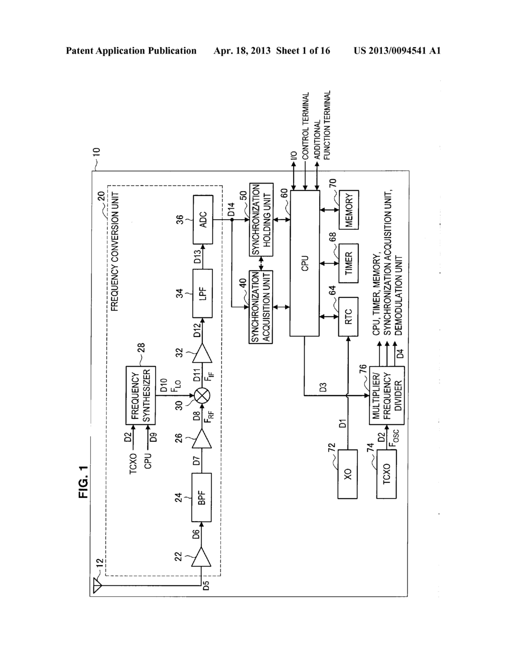 RECEIVING DEVICE, RECEIVING METHOD, COMPUTER PROGRAM, AND PORTABLE     TERMINAL - diagram, schematic, and image 02