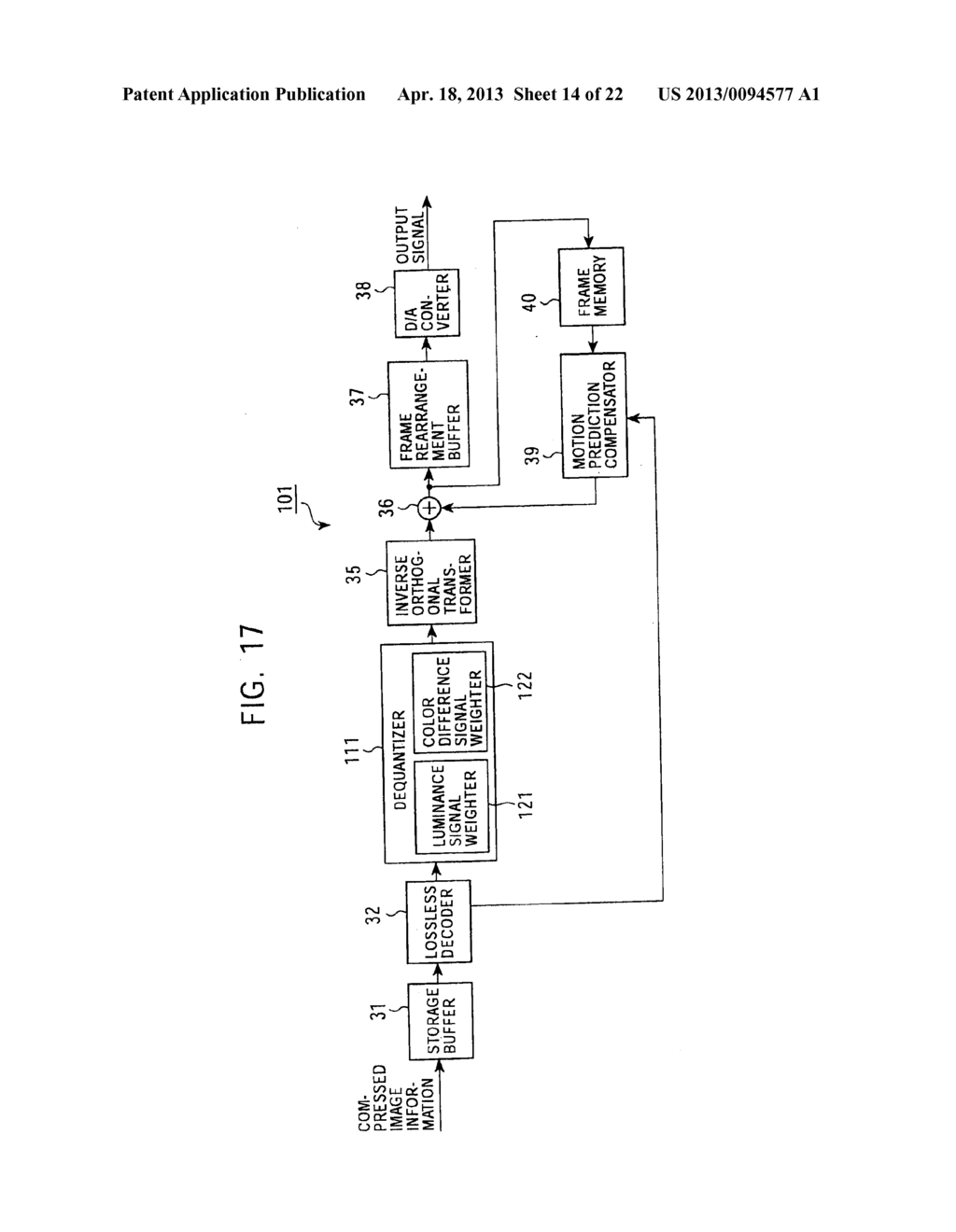 METHOD AND APPARATUS FOR CODING IMAGE INFORMATION, METHOD AND APPARATUS     FOR DECODING IMAGE INFORMATION, METHOD AND APPARATUS FOR CODING AND     DECODING IMAGE INFORMATION, AND SYSTEM OF CODING AND TRANSMITTING IMAGE     INFORMATION - diagram, schematic, and image 15