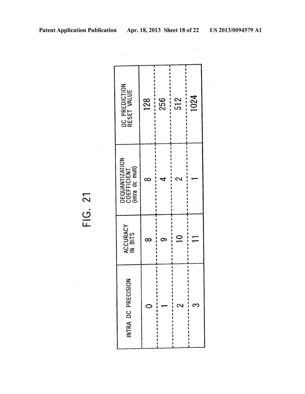 METHOD AND APPARATUS FOR CODING IMAGE INFORMATION, METHOD AND APPARATUS     FOR DECODING IMAGE INFORMATION, METHOD AND APPARATUS FOR CODING AND     DECODING IMAGE INFORMATION, AND SYSTEM OF CODING AND TRANSMITTING IMAGE     INFORMATION - diagram, schematic, and image 19