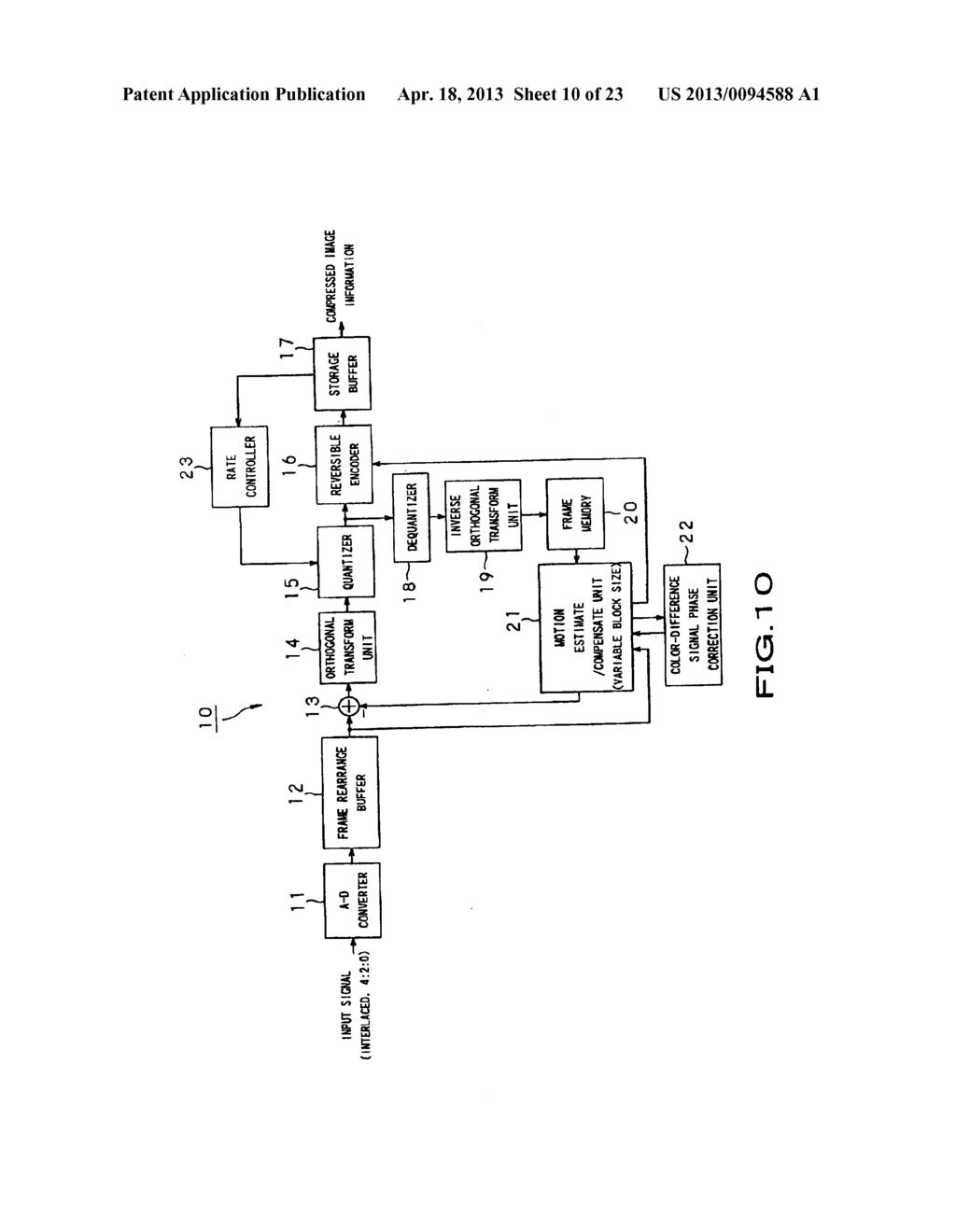 IMAGE INFORMATION ENCODING METHOD AND ENCODER, AND IMAGE INFORMATION     DECODING METHOD AND DECODER - diagram, schematic, and image 11