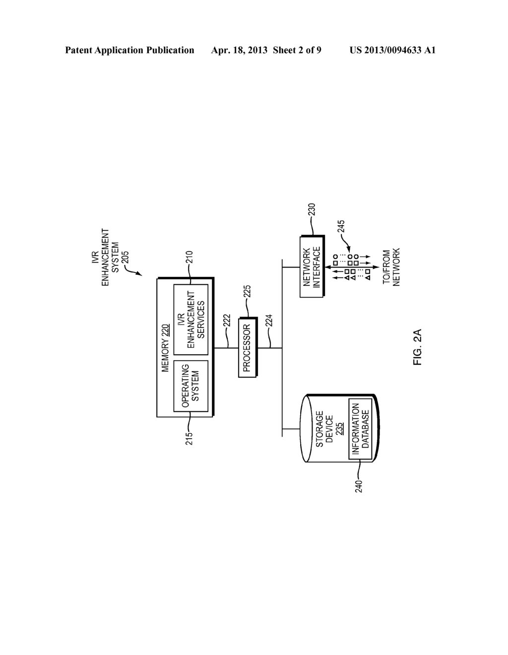 METHOD AND APPARATUS FOR ENHANCING AN INTERACTIVE VOICE RESPONSE (IVR)     SYSTEM - diagram, schematic, and image 03