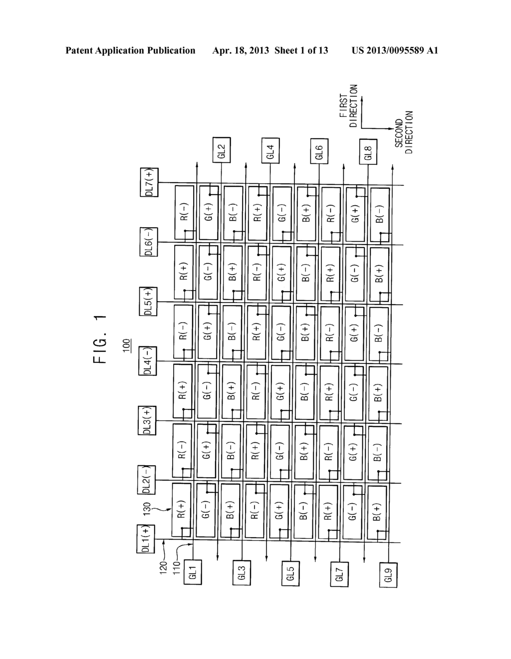 ARRAY SUBSTRATE AND METHOD FOR MANUFACTURING THE SAME - diagram, schematic, and image 02