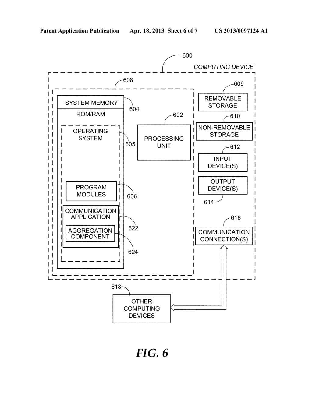 AUTOMATICALLY AGGREGATING CONTACT INFORMATION - diagram, schematic, and image 07