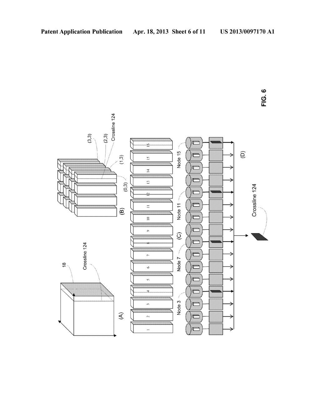 APPARATUS, SYSTEM AND METHOD FOR THE EFFICIENT STORAGE AND RETRIEVAL OF     3-DIMENSIONALLY ORGANIZED DATA IN CLOUD-BASED COMPUTING ARCHITECTURES - diagram, schematic, and image 07