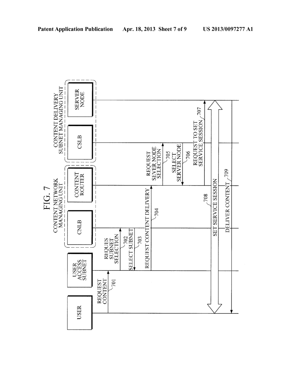 METHOD AND APPARATUS FOR LOAD BALANCING OF CONTENT-CENTRIC NETWORK - diagram, schematic, and image 08
