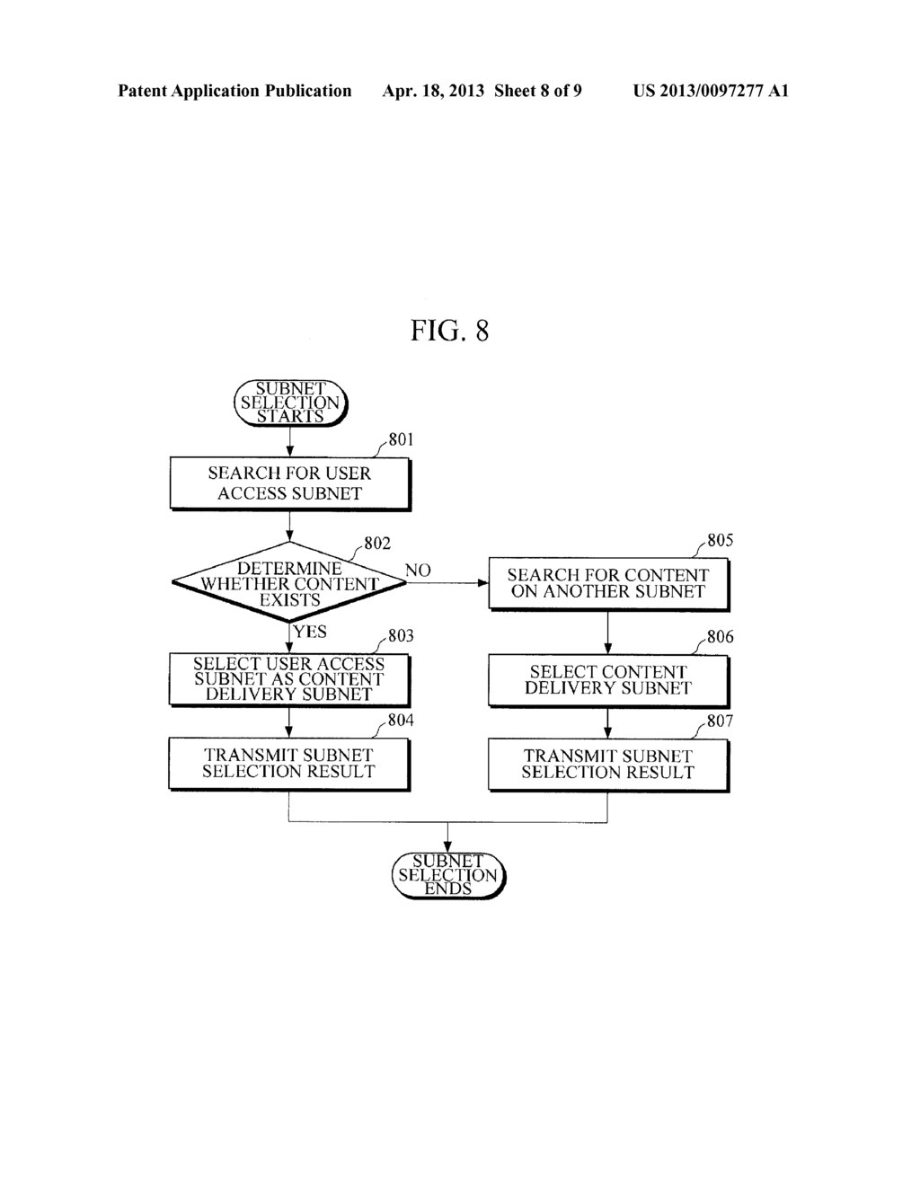METHOD AND APPARATUS FOR LOAD BALANCING OF CONTENT-CENTRIC NETWORK - diagram, schematic, and image 09
