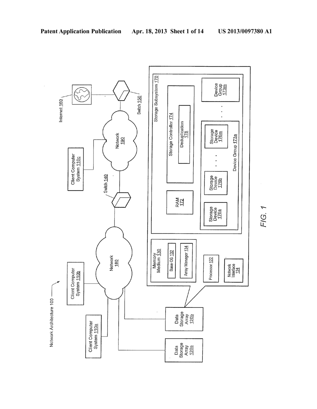 METHOD FOR MAINTAINING MULTIPLE FINGERPRINT TABLES IN A DEDUPLICATING     STORAGE SYSTEM - diagram, schematic, and image 02