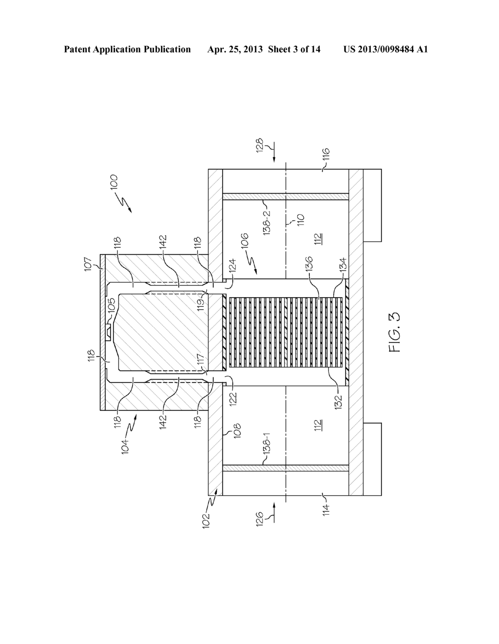 Flow Sensor With Multi Position Laminar Element Having Diagram Integrated Bypass Channels Schematic And Image 04