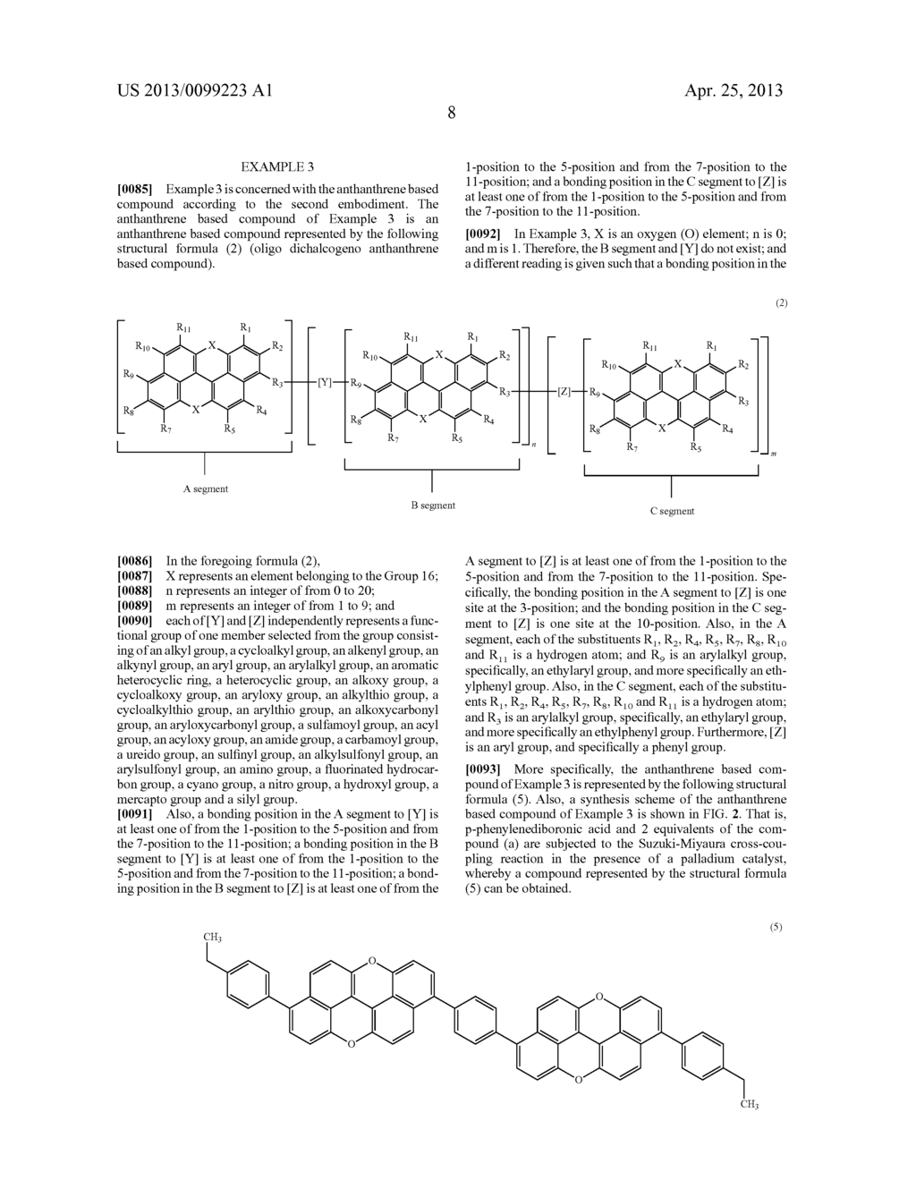 ANTHANTHRENE BASED COMPOUND AND SEMICONDUCTOR DEVICE - diagram, schematic, and image 13