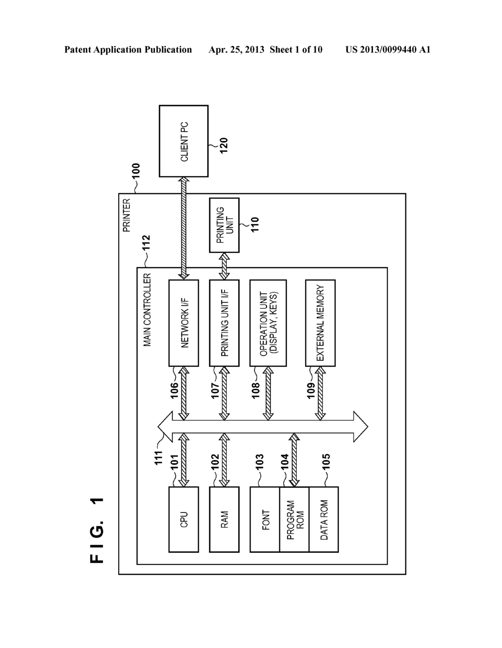 PRINTING SYSTEM AND CONTROL METHOD THEREOF - diagram, schematic, and image 02