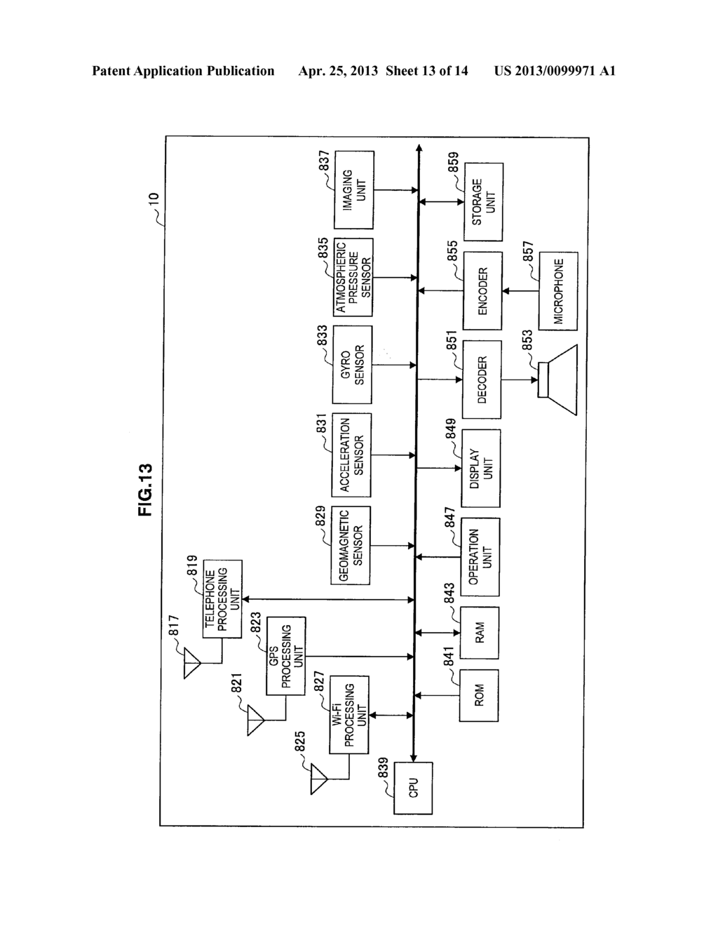 INFORMATION PROCESSING APPARATUS, RECEPTION INFORMATION SERVER,     INFORMATION PROCESSING METHOD, PROGRAM, AND RECORDING MEDIUM - diagram, schematic, and image 14