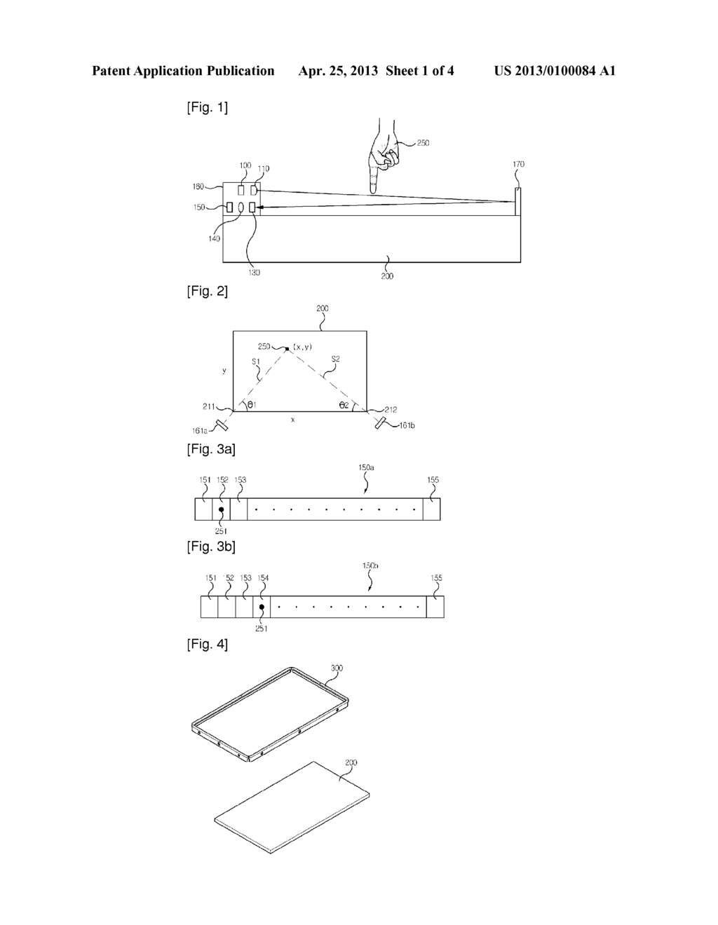 OPTICAL TOUCH SCREEN AND METHOD FOR ASSEMBLING THE SAME - diagram, schematic, and image 02